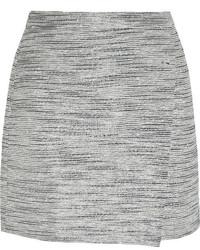 Minifalda de tweed gris de J.Crew