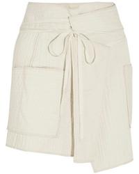 Minifalda en beige de Isabel Marant