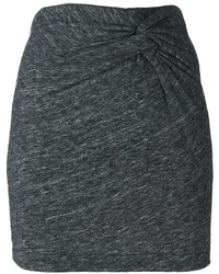 Minifalda en gris oscuro de IRO