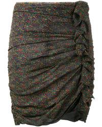 Minifalda en verde azulado de Etoile Isabel Marant