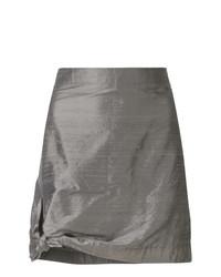 Minifalda Gris de Giorgio Armani Vintage