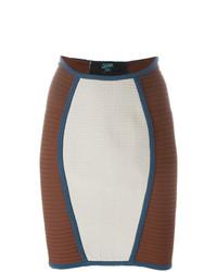 Minifalda Gris de Jean Paul Gaultier Vintage
