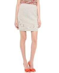 Minifalda gris de Rebecca Taylor