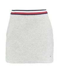 Minifalda Gris de Tommy Hilfiger