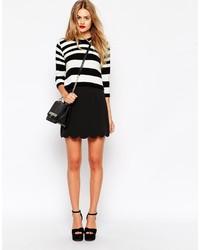 Minifalda negra de Asos