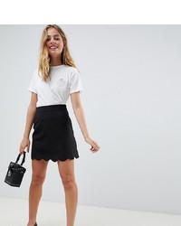 Minifalda negra de Asos Petite