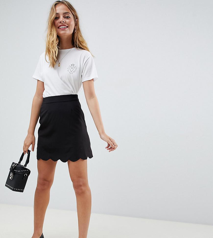 766ecb6c1 Minifalda negra de Asos Petite