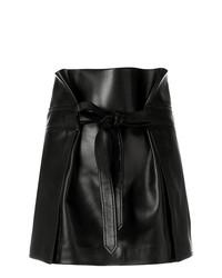 Minifalda negra de Saint Laurent