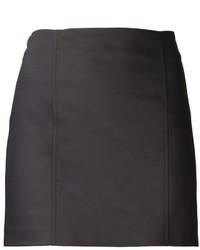 Minifalda negra de The Row