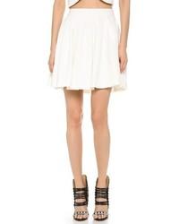 Minifalda Plisada Blanca de Blaque Label
