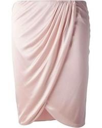 Minifalda rosada de Versace