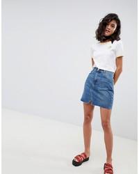 Minifalda vaquera azul de ASOS DESIGN