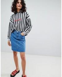 Minifalda vaquera azul de Uncivilised