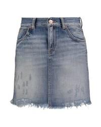 Minifalda Vaquera Gris de LTB