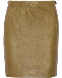 Minifalda verde oliva original 1462101