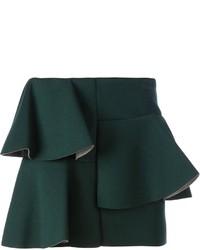 Minifalda verde oscuro original 5089384