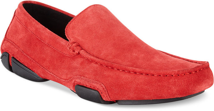 Mocasín de Ante Rojo de Kenneth Cole Reaction