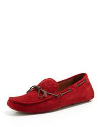 para Moda rojo mocasín combinar un Hombres Cómo 8fwqC1c