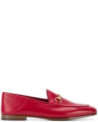 Mocasín rojos de Gucci
