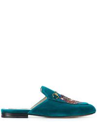 Mocasín Verde Azulado de Gucci