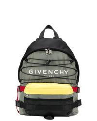 Mochila de lona gris de Givenchy