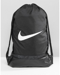 Mochila de Lona Negra de Nike