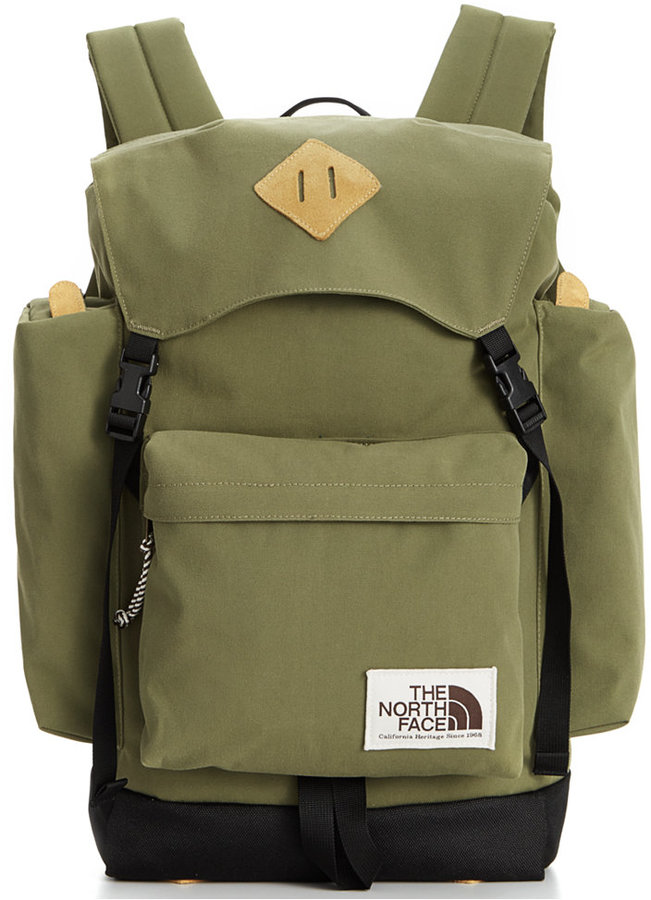 north face mochila verde
