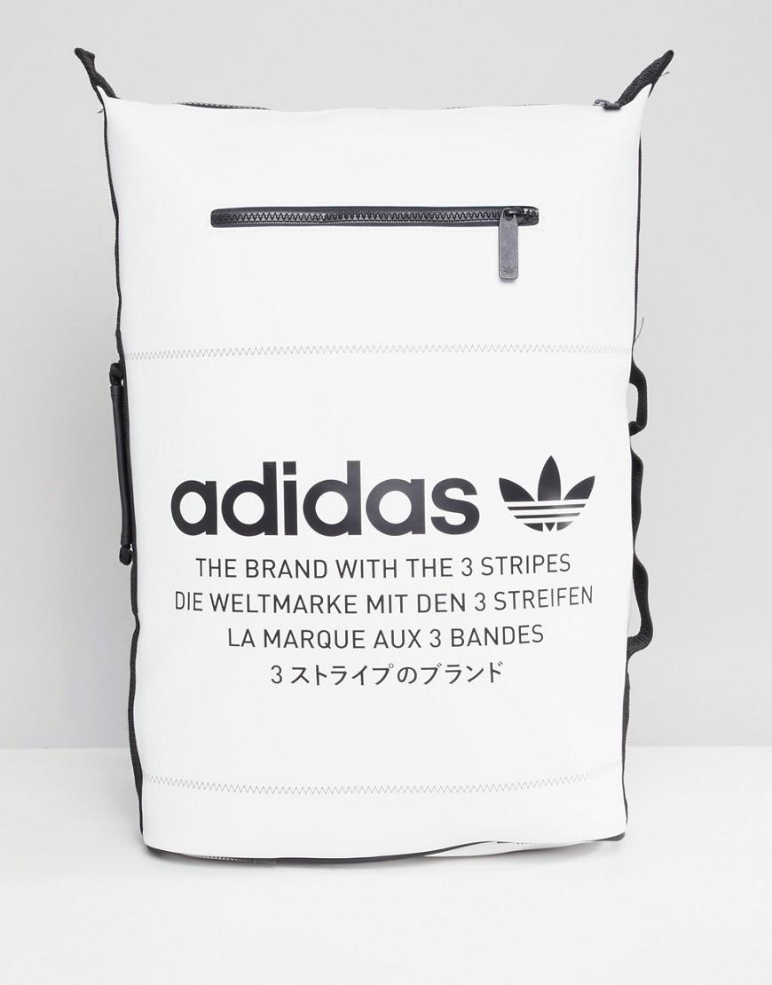 Estampada Y De Originals En Negro Adidas Blanco Mochila CErdWBoeQx