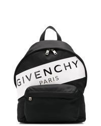 Mochila estampada en negro y blanco de Givenchy