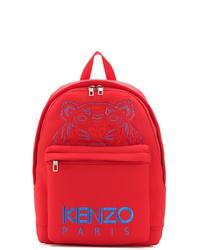 Mochila estampada roja de Kenzo