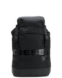 Mochila negra de Diesel