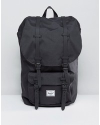 Mochila negra de Herschel Supply Co.