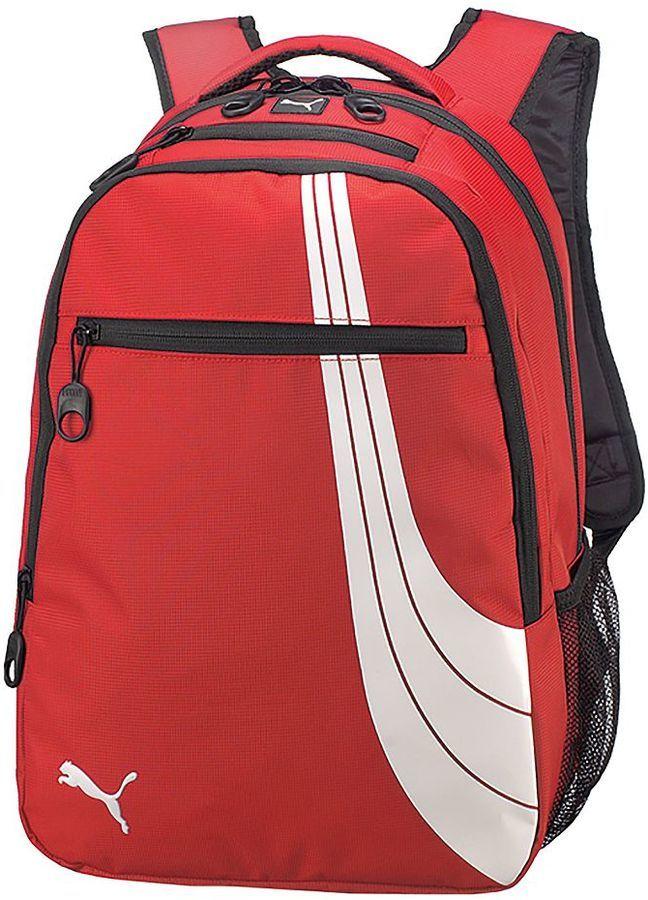 mochilas puma rojas