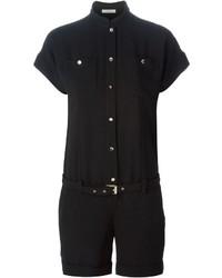 Mono corto negro de Versace