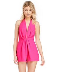 d97290b0c713 Cómo combinar un mono corto rosa (6 looks de moda) | Moda para ...