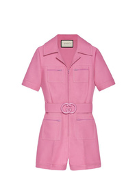 Mono corto rosado de Gucci