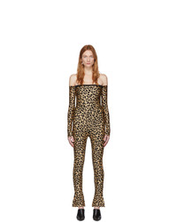 Mono de leopardo marrón de Halpern