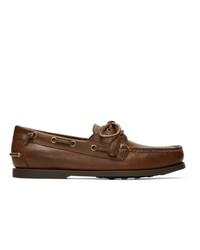 Náuticos de cuero marrónes de Polo Ralph Lauren