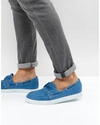 Náuticos de lona azules de Armani Jeans