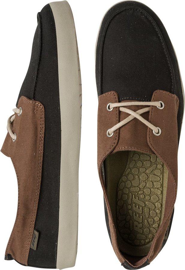 Livraison gratuite populaires Hommes Chaussures Noires Récif bas prix sortie vente exclusive 9IHP4nGSsr
