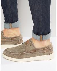Náuticos marrón claro de Skechers