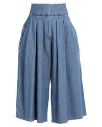 Pantalón Capri Azul de WÅVEN