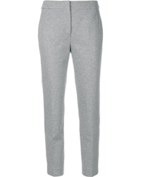 Pantalón capri gris