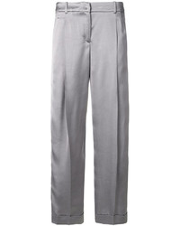 Pantalón capri gris de Jil Sander Navy