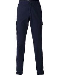 Pantalón cargo azul marino de Brunello Cucinelli