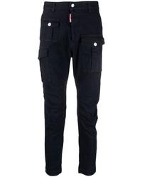 Pantalón cargo azul marino de DSQUARED2