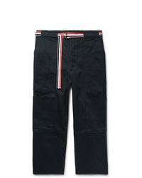 Pantalón cargo azul marino de Thom Browne