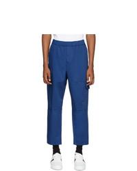 Pantalón cargo azul de Kenzo
