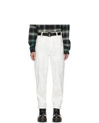 Pantalón cargo blanco de Ksubi