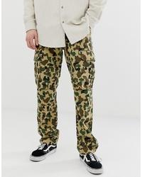 Pantalón cargo de camuflaje marrón de Dickies
